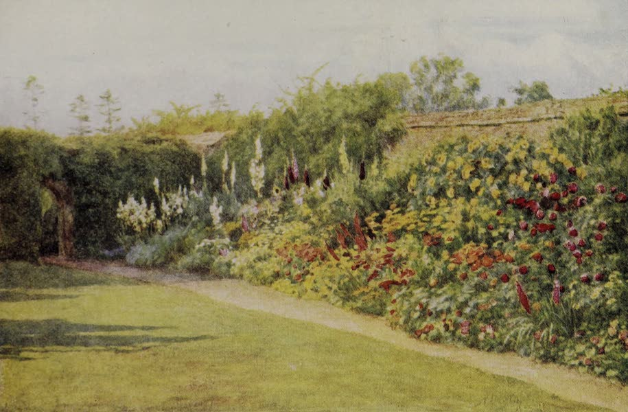 The Charm of Gardens - The South Border (1910)