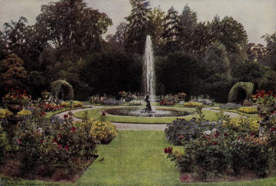 The Charm of Gardens - A Round Garden (1910)