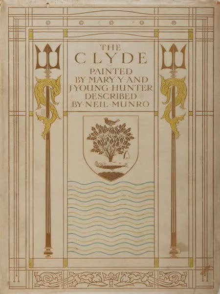 The Clyde River and Firth Painted and Described - Dust Jacket (1907)