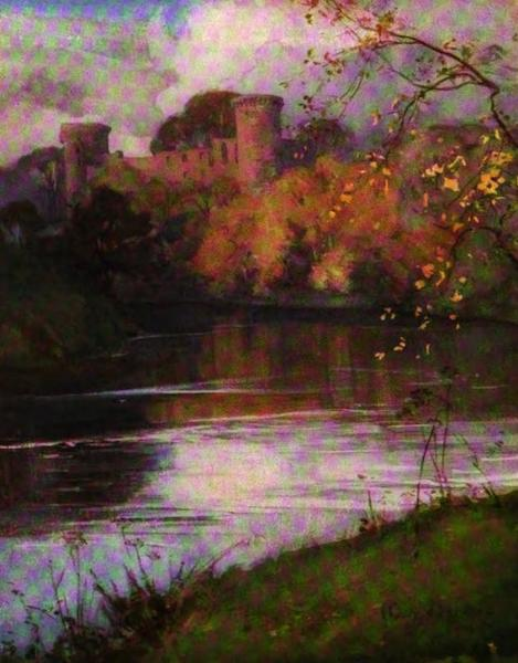 The Clyde River and Firth Painted and Described - Bothwell Castle (1907)