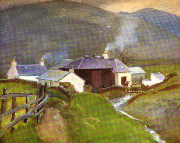 The Clyde River and Firth Painted and Described - Little Clyde Farm. Source of the Clyde (1907)
