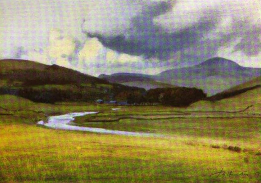 The Clyde River and Firth Painted and Described - Tinto, and the Clyde Valley at Abington, . (1907)