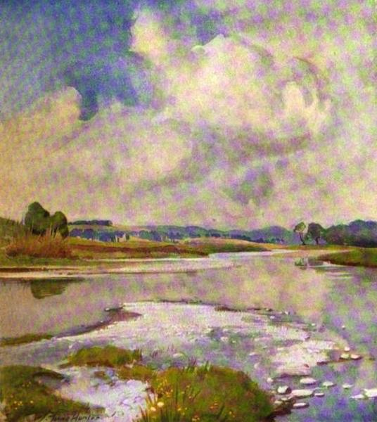 The Clyde River and Firth Painted and Described - The River at Lamington (1907)