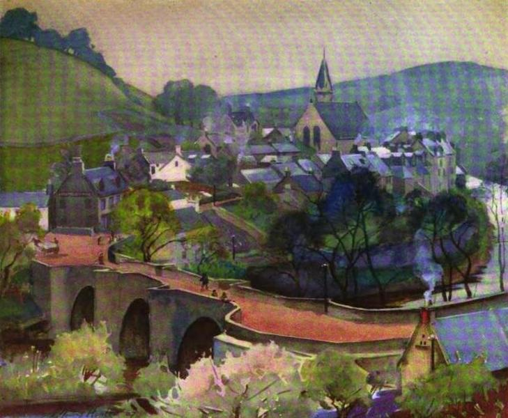 The Clyde River and Firth Painted and Described - Kirkfieldbank (1907)