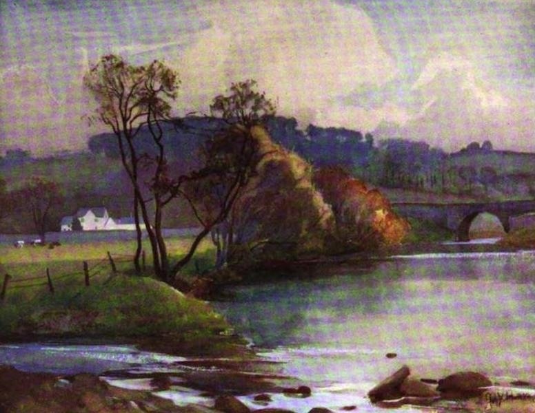 The Clyde River and Firth Painted and Described - Where the River Mouse joins the Clyde (1907)