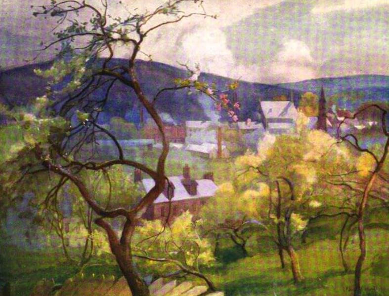 The Clyde River and Firth Painted and Described - Crossford, from the Orchards (1907)