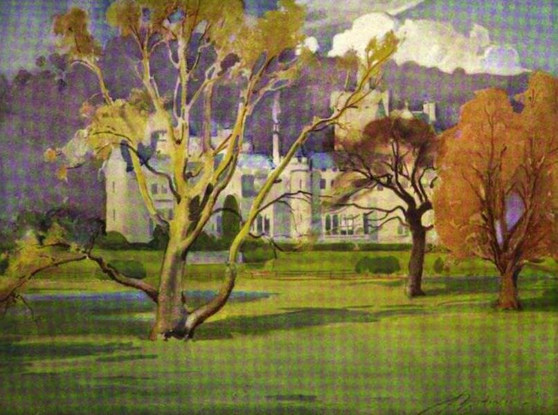 The Clyde River and Firth Painted and Described - Mauldslie Castle (1907)