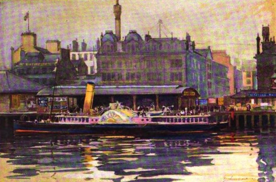 The Clyde River and Firth Painted and Described - Broomeilaw, Glasgow (1907)