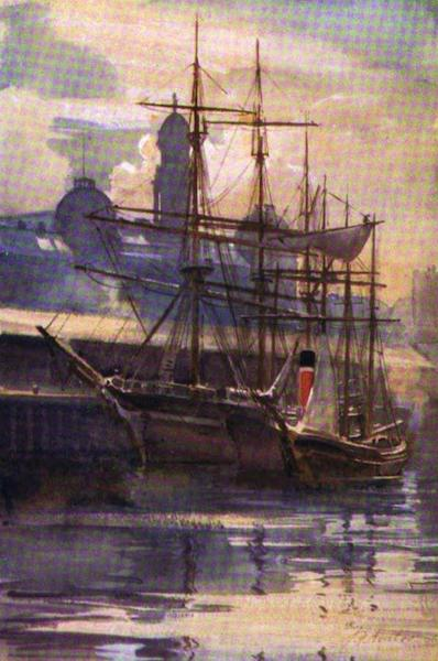 The Clyde River and Firth Painted and Described - Kingston Dock, Glasgow (1907)