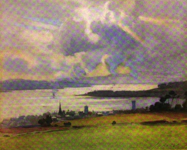 The Clyde River and Firth Painted and Described - Helensburgh, from the Golf Links (1907)