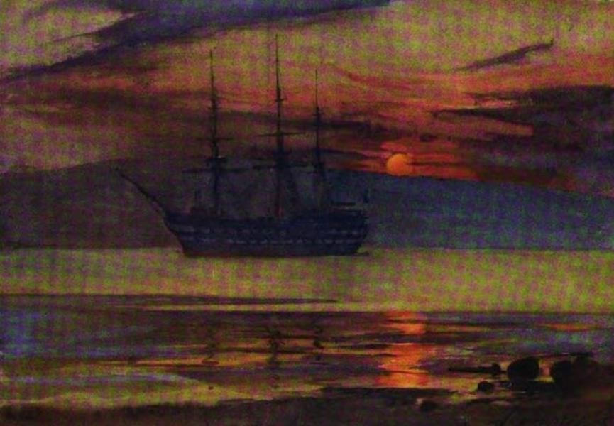 The Clyde River and Firth Painted and Described - Last Days of C.T.S. Cumberland (1907)