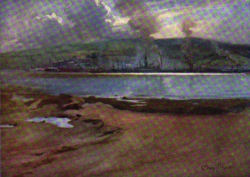 The Clyde River and Firth Painted and Described - Port-Glasgow, from Cardross (1907)