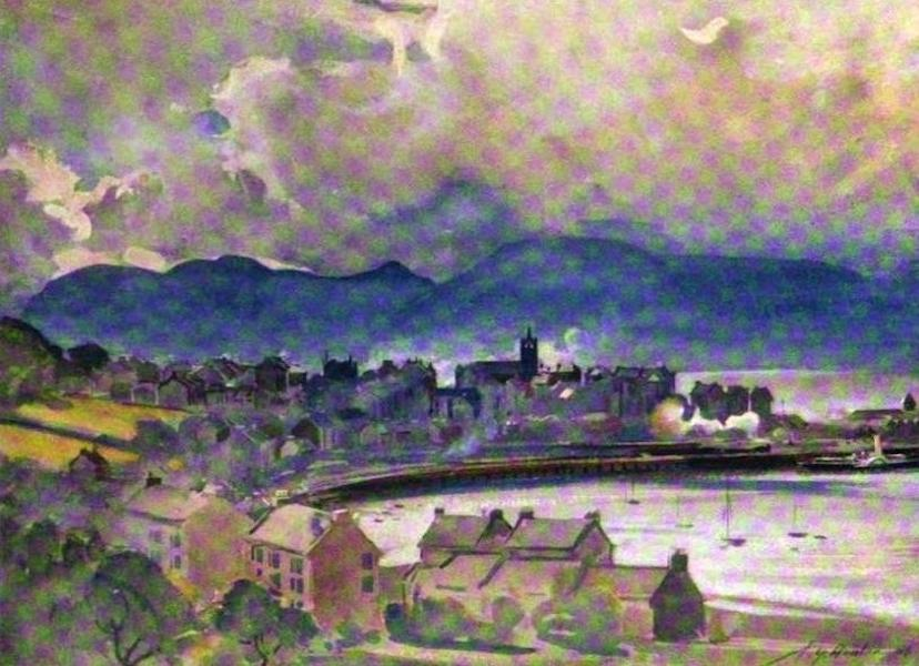 The Clyde River and Firth Painted and Described - Gourock (1907)