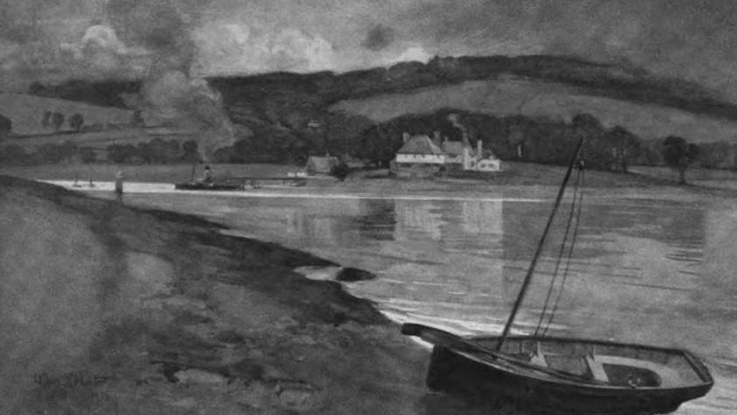 The Clyde River and Firth Painted and Described - The Ferry Inn, Rosneath (1907)