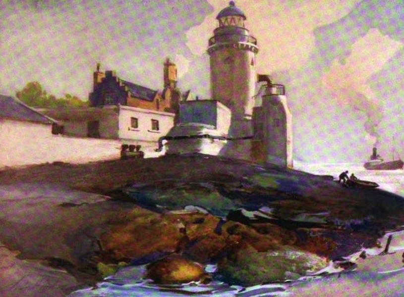 The Clyde River and Firth Painted and Described - The Cloch (1907)