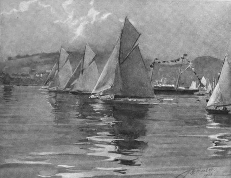 The Clyde River and Firth Painted and Described - R.N.Y.C. Regatta, 1906 (1907)