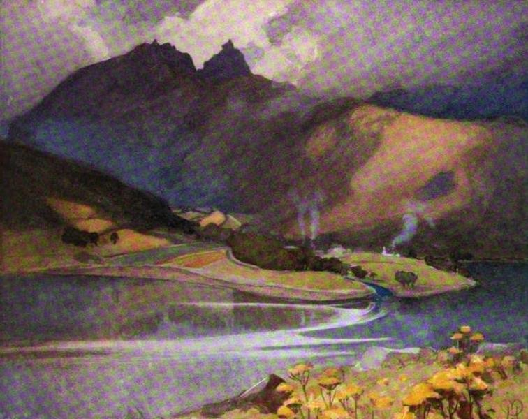 The Clyde River and Firth Painted and Described - Glen Croe (1907)