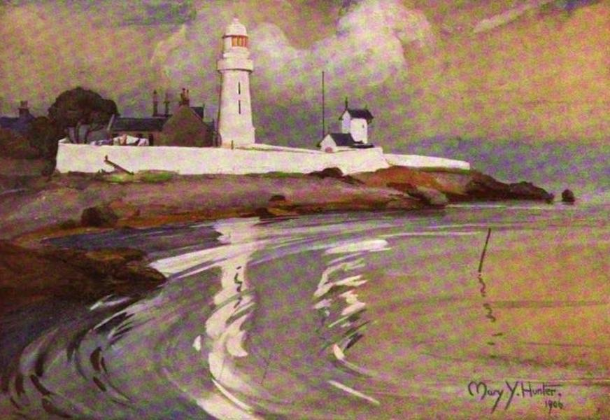 The Clyde River and Firth Painted and Described - Toward Light (1907)