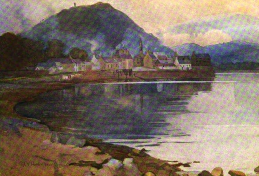 The Clyde River and Firth Painted and Described - Inveraray (1907)