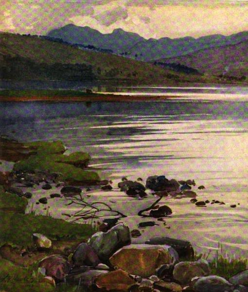 The Clyde River and Firth Painted and Described - Starchur, from Dalchenna, Loch Fyne (1907)