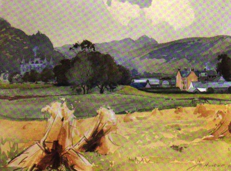 The Clyde River and Firth Painted and Described - Inveraray Castle (1907)