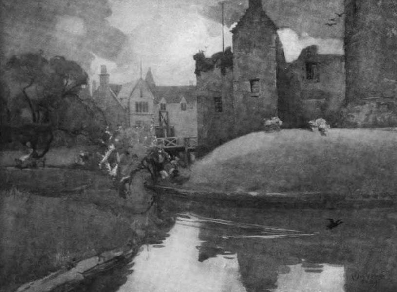 The Clyde River and Firth Painted and Described - Rothesay Castle (1907)