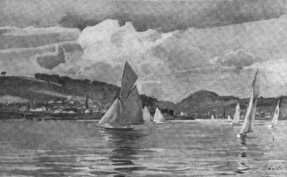 The Clyde River and Firth Painted and Described - Craigmore and Rothesay Bay (1907)