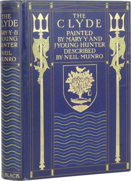 The Clyde River and Firth Painted and Described - Book Display [I] (1907)