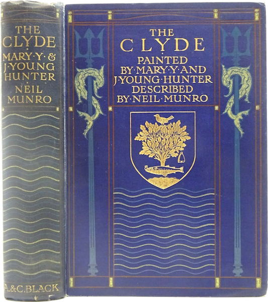 The Clyde River and Firth Painted and Described - Book Display [II] (1907)