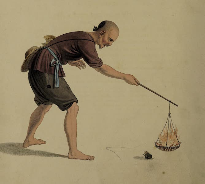 The Costume of China - A Frog-catcher (1800)
