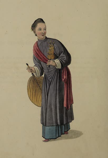 The Costume of China - A Chinese Woman (1800)
