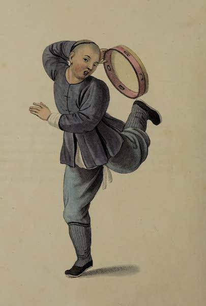 The Costume of China - A Tambouriner (1800)