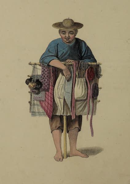 The Costume of China - A Pedlar (1800)