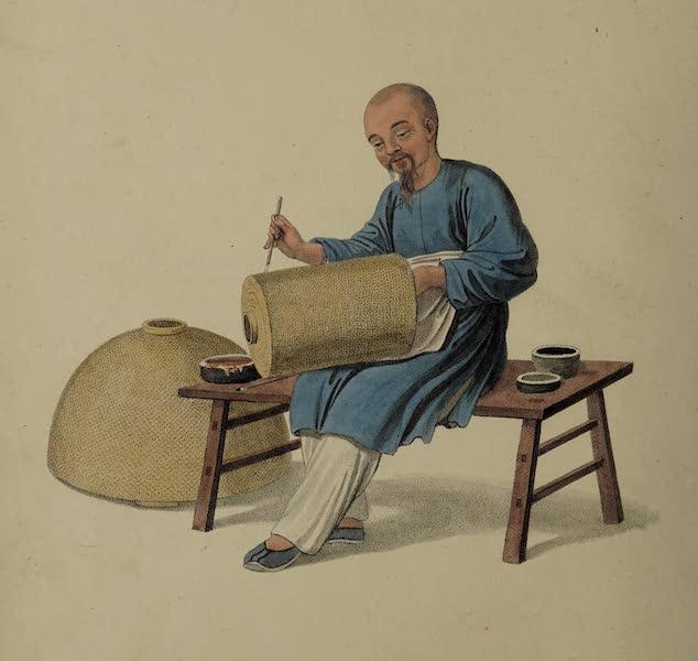 The Costume of China - A Lantern-painter (1800)