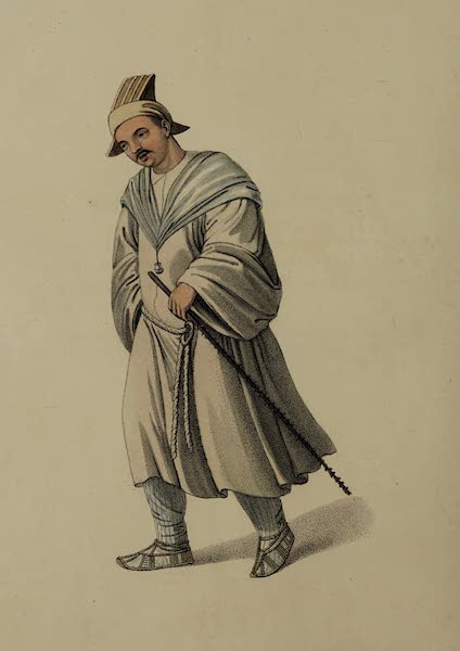 The Costume of China - A Traveller (1800)