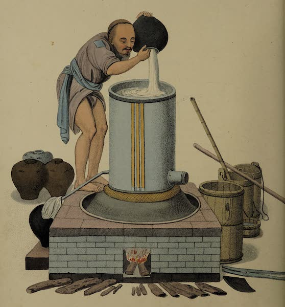 The Costume of China - A Distiller (1800)