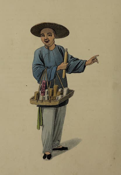 The Costume of China - An Apothecary (1800)