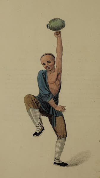 The Costume of China - A Balancer (1800)