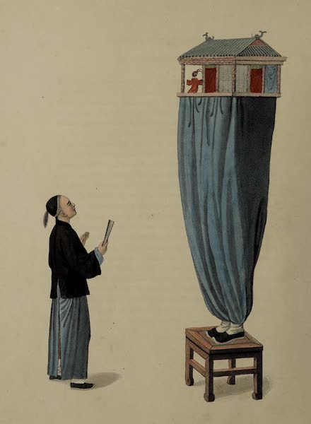 The Costume of China - A Puppet-show (1800)