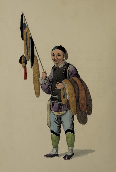 The Costume of China - A Furrier (1800)