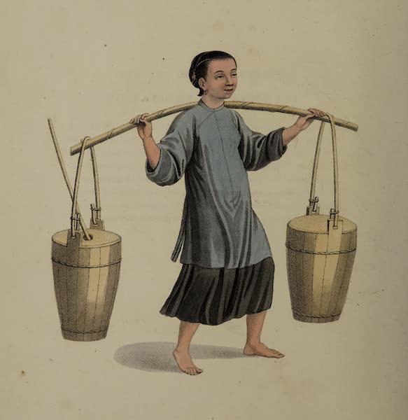 The Costume of China - A Female Peasant (1800)