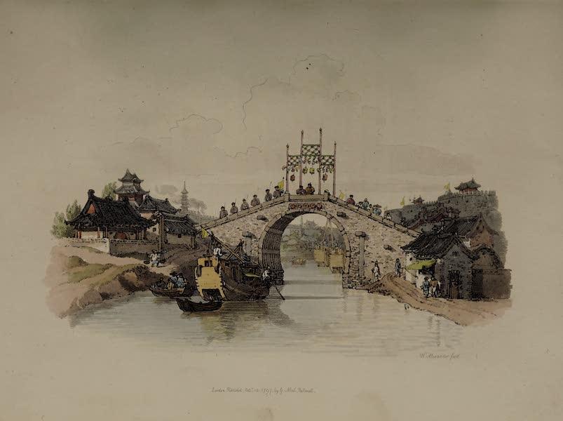 The Costume of China - View of a Bridge at Sou-tcheou (1805)