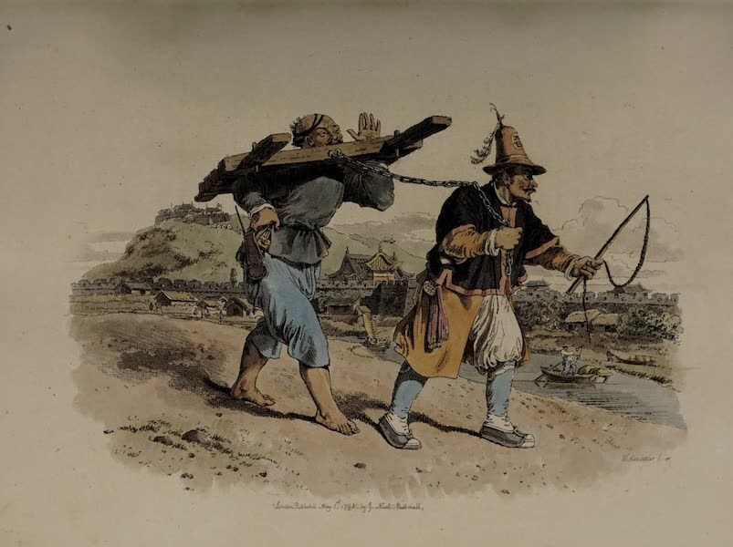 The Costume of China - Punishment of the Can-gue (1805)