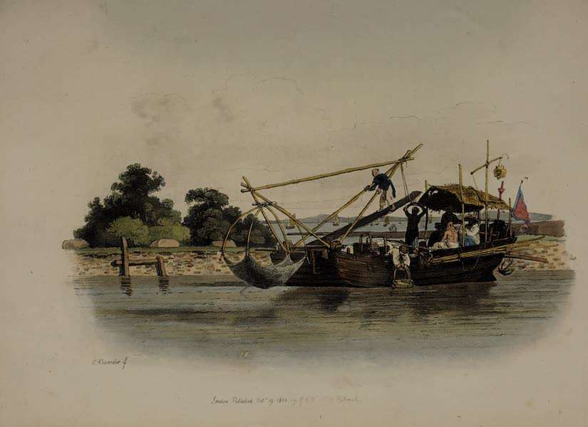 The Costume of China - A Fishing Boat (1805)