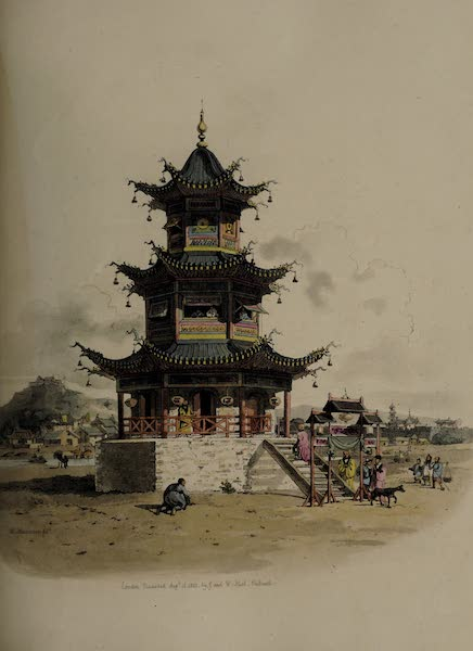 The Costume of China - A Pagoda, or Temple for religious Worship (1805)