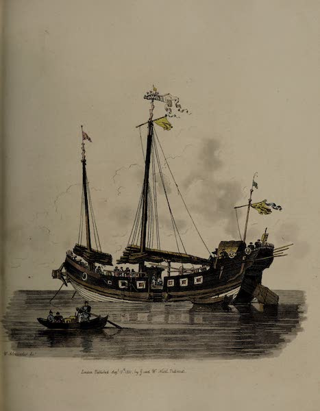 The Costume of China - A Ship of War (1805)
