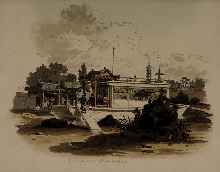 The Costume of China - Building, resembling a Vessel (1805)