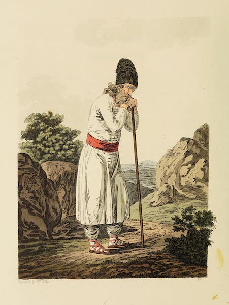 The Costume of the Hereditary States of the House of Austria - A Peasant of Flipovan, in the Bokowine (1804)