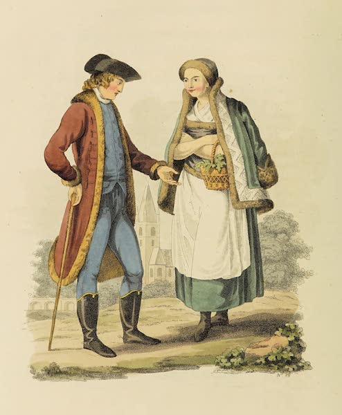 The Costume of the Hereditary States of the House of Austria - Citizens of the Environs of Hermanstadt (1804)
