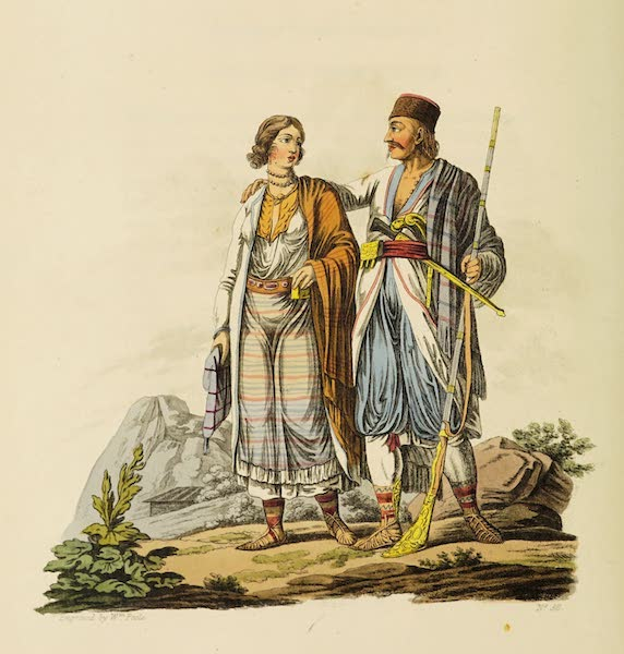 The Costume of the Hereditary States of the House of Austria - A Zouppanese and his Wife (1804)